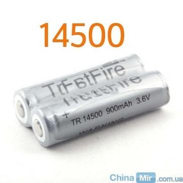 2 аккумулятора TrustFire 14500 AA 3.6V