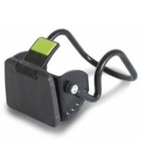 Аксессуар Крепление Basil BasEasy-system на руль 22 - 25,4 мм, алюмин., черный