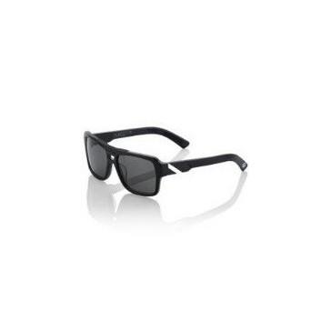 "Очки велосипедные 100% ""BURGETT"" Sunglasses Matte Black/White - Grey Tint"