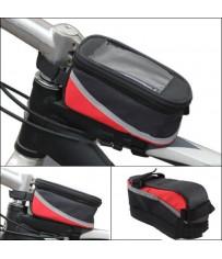 Сумка-бардачок для велосипеда с отсеком для телефона