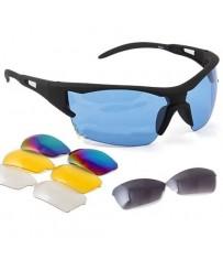 Велосипедные очки со сменными линзами, спортивные велоочки
