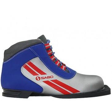 Лыжные ботинки под крепление NN75 (кожзам)