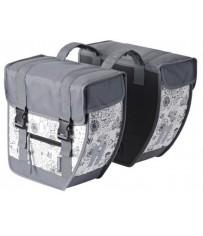 Сумка-штаны на/баг Basil TOUR XL JADA 40 л., водоотталкив., marble-grey