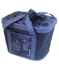 Сумка на руль Basil JADA-BAG BASKET 23 л., Blueberry-purple (без крепления)