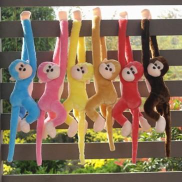 Мягкая плюшевая игрушка обезьяна с музыкой