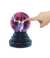 Плазменный шар с молниями Тесла