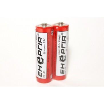 Батарейка Энергия Heavy Duty R6, АА