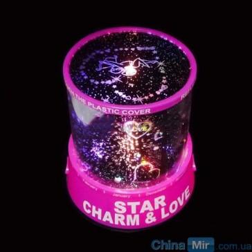 Проектор звездного неба Star Beauty с сердечками, ночник, светильник