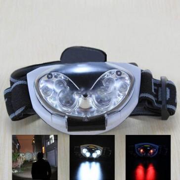 6 светодиодный налобный туристический фонарик