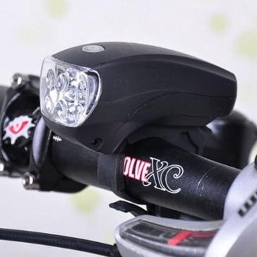 Велосипедная 5-ти светодиодная фара