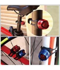 Велосипедный фонарик безопасности.