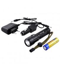 Фонарь 12V Small Sun T11/6810- XML T6, аккумулятор, зарядное устройство
