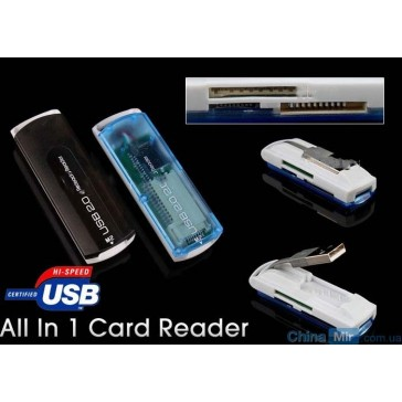 USB Card Reader (SDHC MS M2 TF Micro SD)