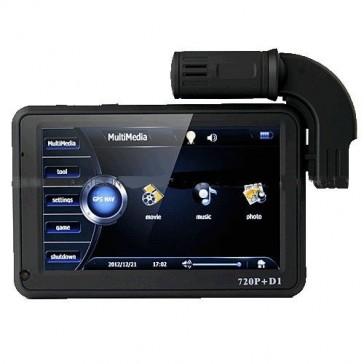 Автомобильный видеорегистратор 5 дюймов с GPS