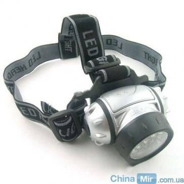 21 светодиодный налобный туристический фонарик